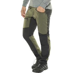 Haglöfs Rugged Flex Pantalones Hombre, deep woods/true black